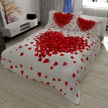 سرویس خواب مدل قلب دونفره 7 تکه
