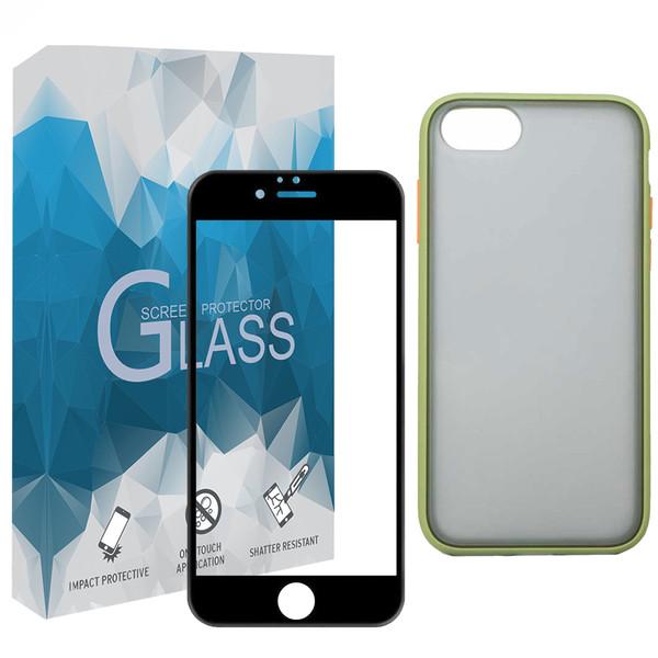 کاور مدل BMR_B مناسب برای گوشی موبایل اپل iPhone 7 / 8 به همراه محافظ صفحه نمایش