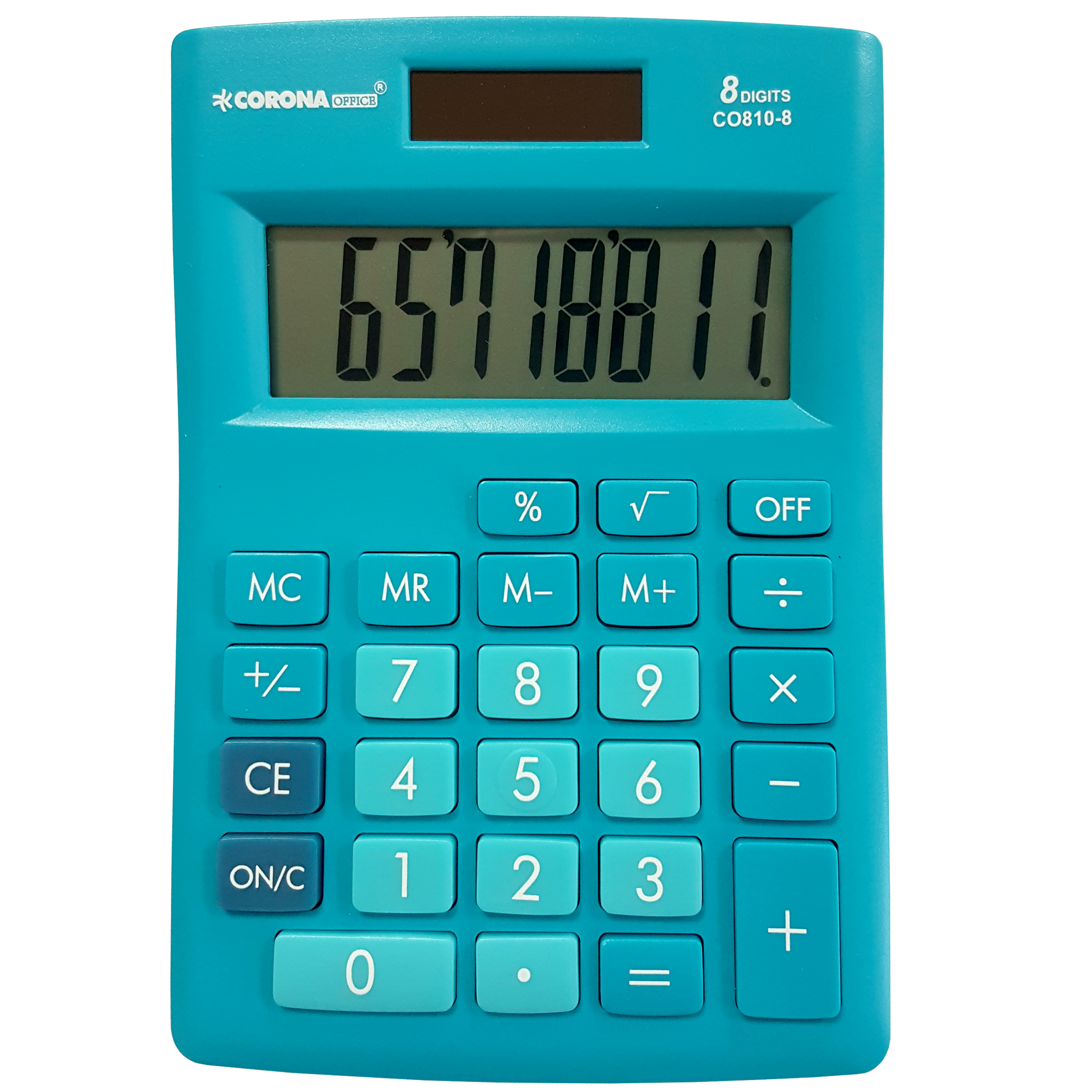 ماشین حساب کرونا آفیس مدل CO810-8