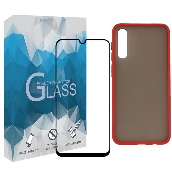 کاور مدل BMR مناسب برای گوشی موبایل سامسونگ Galaxy A70 به همراه محافظ صفحه نمایش