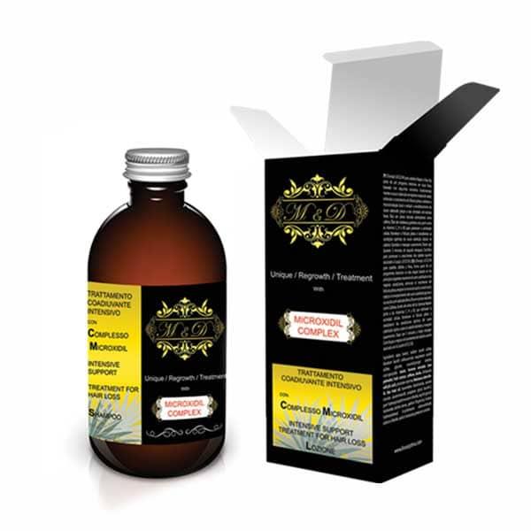 لوسیون ضد ریزش مو   ام اند دی    مدل Microxidil   حجم 100 میلی لیتر