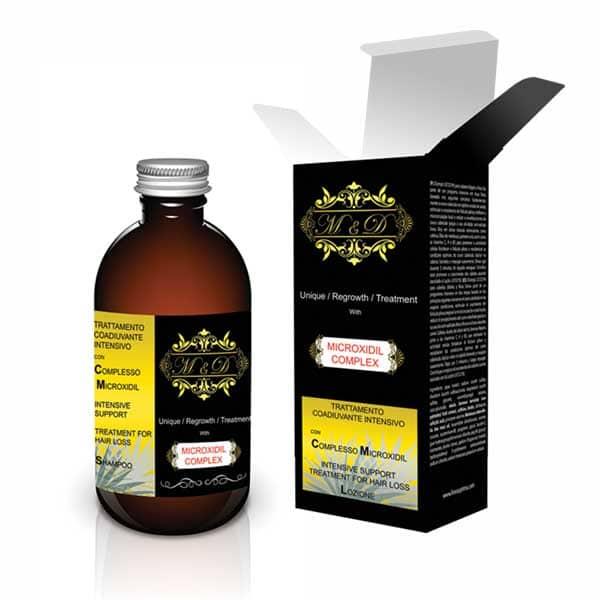 شامپو ضد ریزش مو  ام اند دی   مدل Microxidil   حجم 200 میلی لیتر