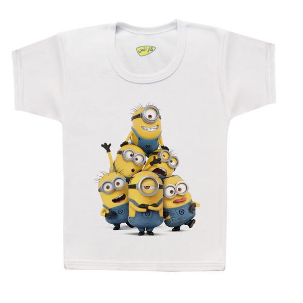 تی شرت پسرانه کارانس طرح مینیون مدل BT-1208