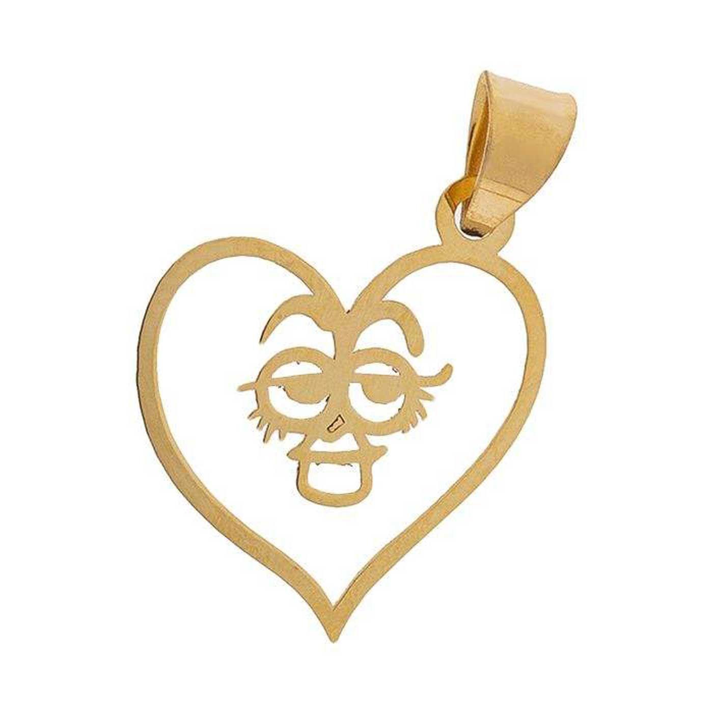 آویز گردنبند طلا 18 عیار زنانه کانیار گالری کد PE67 -  - 1