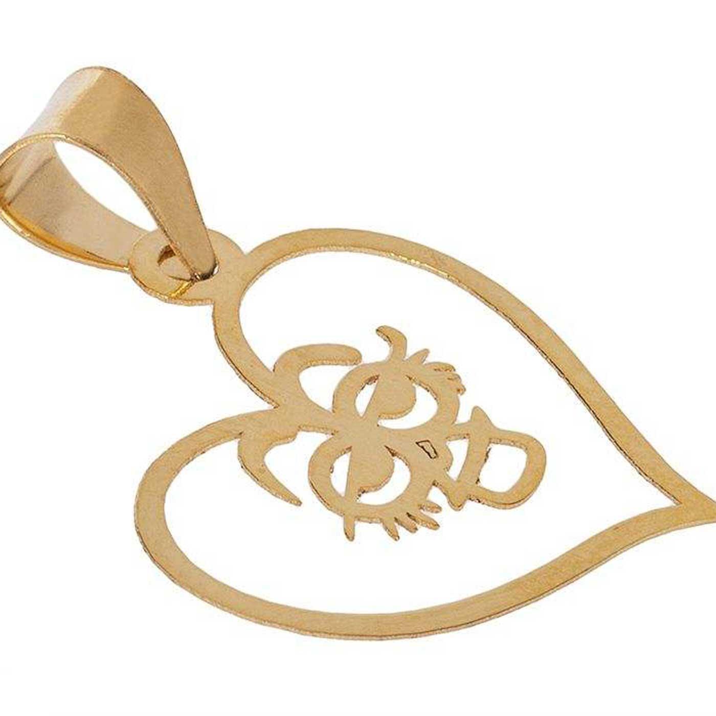 آویز گردنبند طلا 18 عیار زنانه کانیار گالری کد PE67 -  - 2