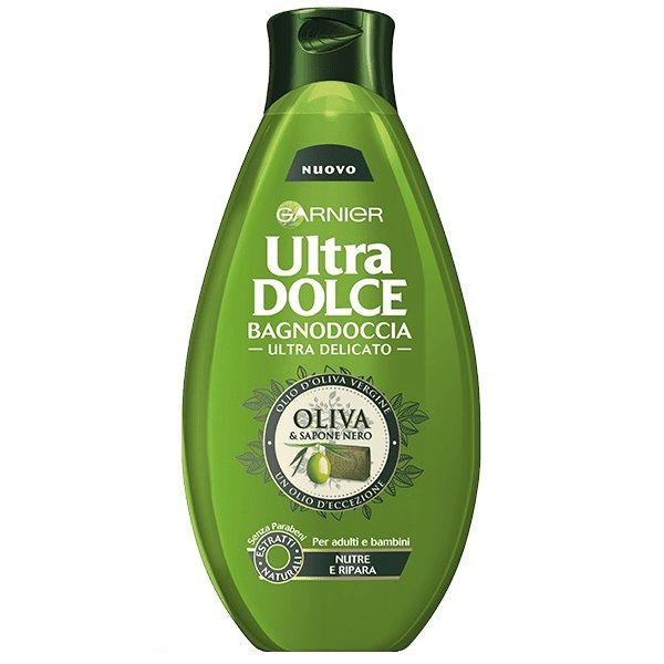 شامپو بدن گارنیه سری Ultra Dolce مدل Oliva And Sapone Nero حجم 500 میلی لیتر