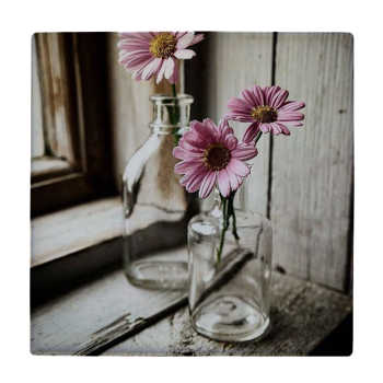 کاشی طرح گلدان و گل کد wk323
