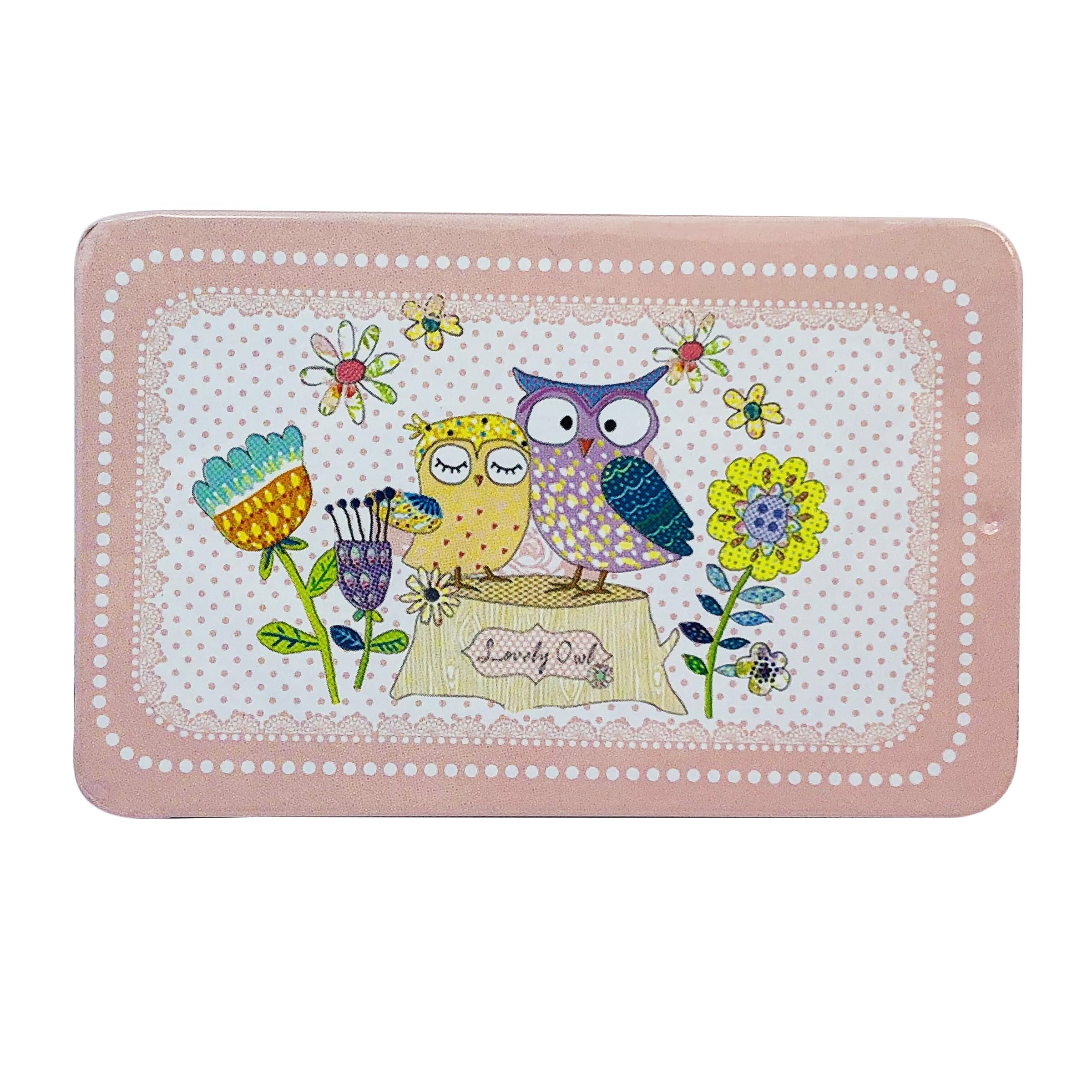 جاکارتی دخترانه طرح Lovely Owl