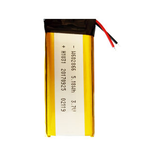 باتری لیتیوم یون مدل W602866 ظرفیت 1400 میلی آمپر ساعت