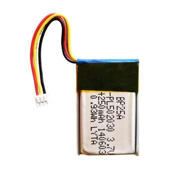باتری لیتیوم یون مدل PL502030 ظرفیت 250 میلی آمپر ساعت