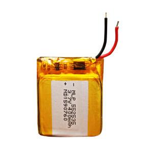 باتری لیتیوم یون مدل MLP552535 ظرفیت 400 میلی آمپر ساعت