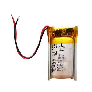 باتری لیتیوم یون مدل 401020j ظرفیت 55 میلی آمپر ساعت