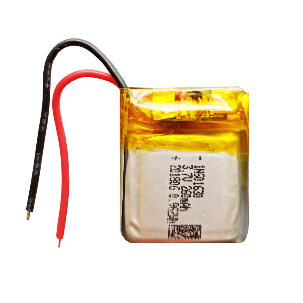 باتری لیتیوم یون مدل LN601630 ظرفیت 260 میلی آمپر ساعت