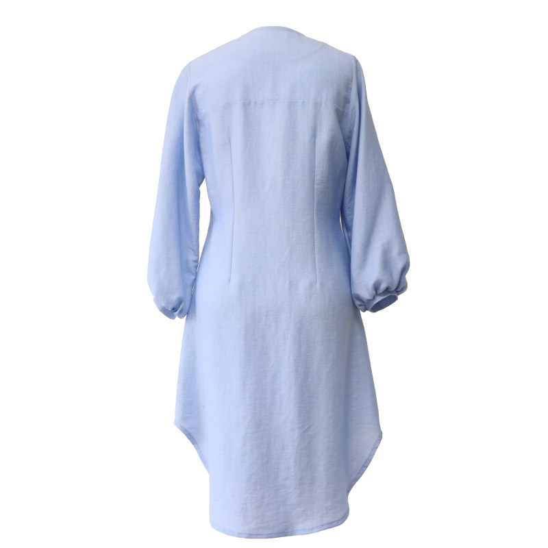 مانتو زنانه دِرِس ایگو کد 1100033 رنگ آبی
