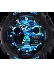 ساعت مچی عقربه ای مردانه کاسیو مدل GA-100CB-1ADR -  - 8