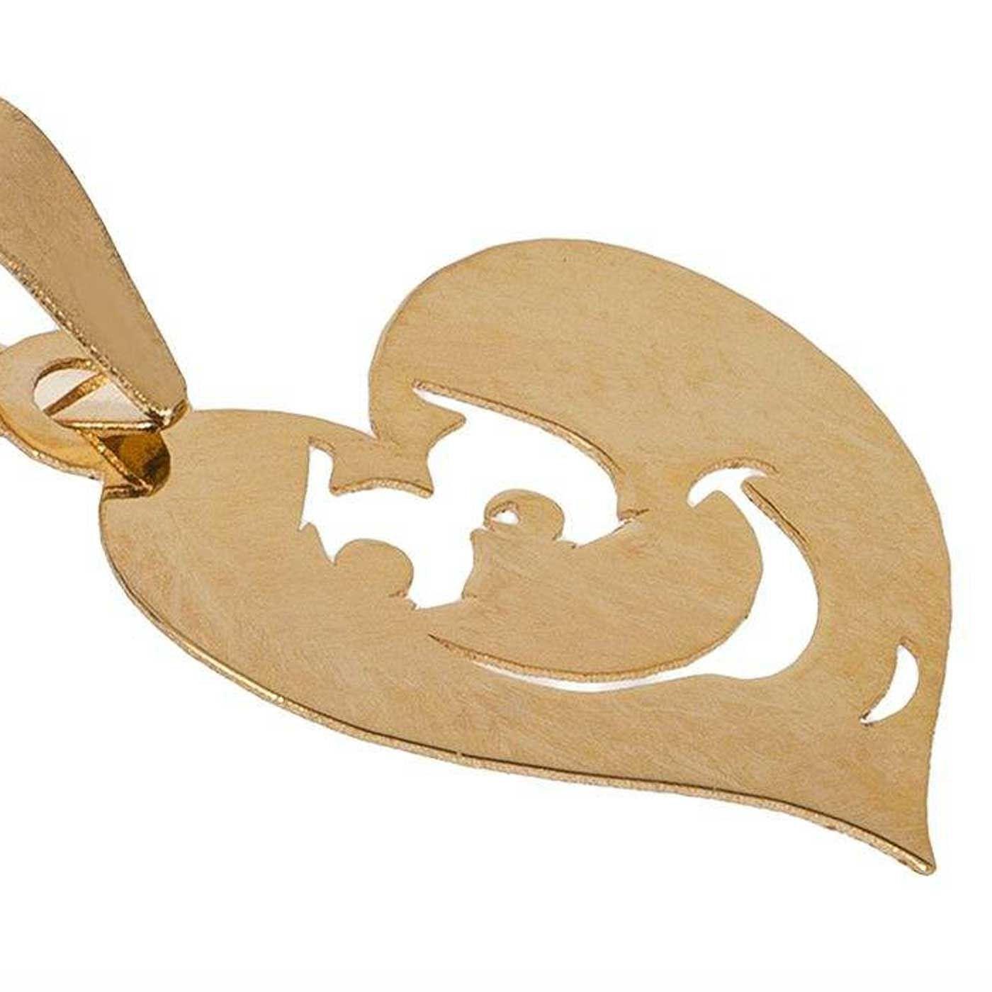 آویز گردنبند طلا 18 عیار زنانه کانیار گالری کد PE6 -  - 2