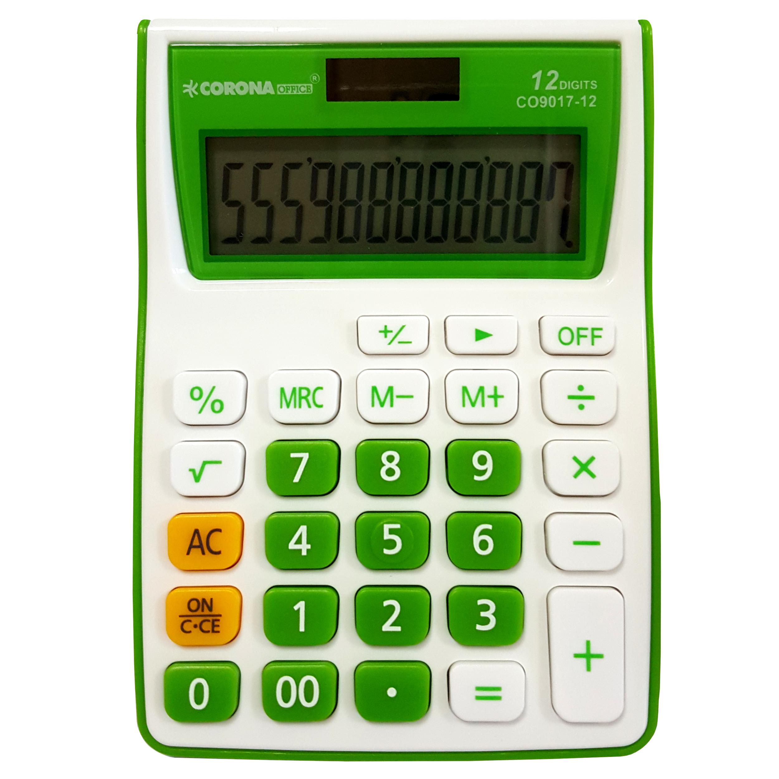 ماشین حساب کرونا آفیس مدل CO9017