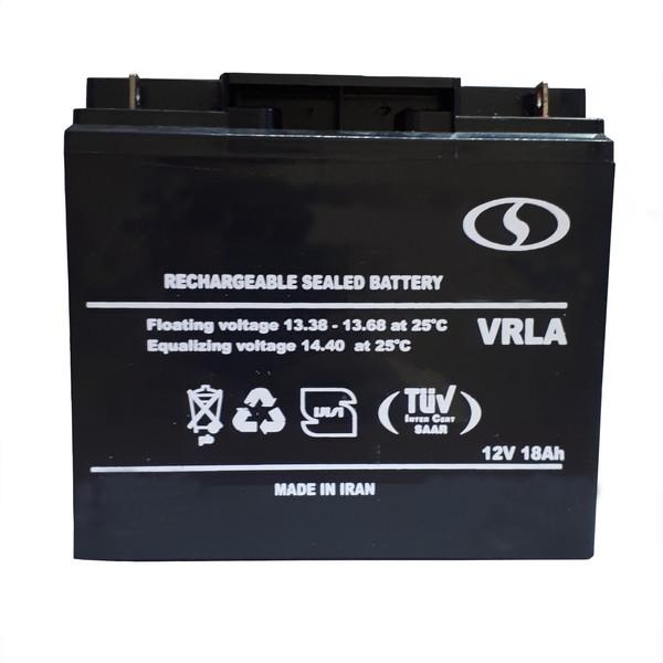 باتری سیلد اسید 12 ولت مدل NB-025
