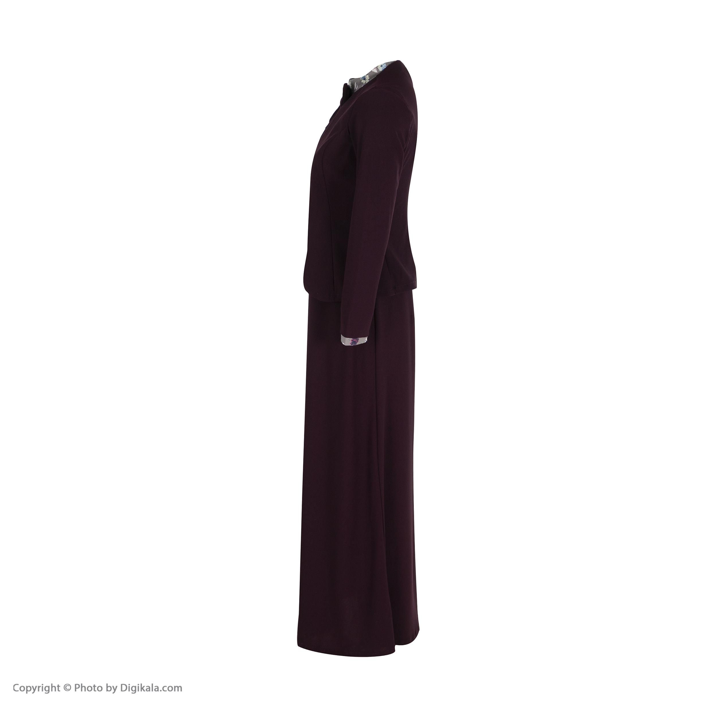 ست پیراهن و کت زنانه کد 160