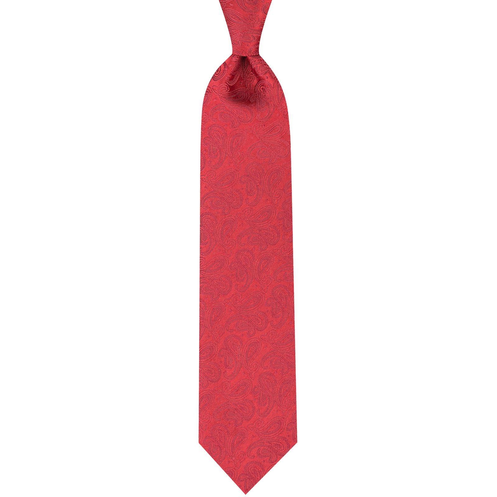 ست کراوات و دستمال جیب و گل کت مردانه جیان فرانکو روسی مدل GF-PA225-BE -  - 1
