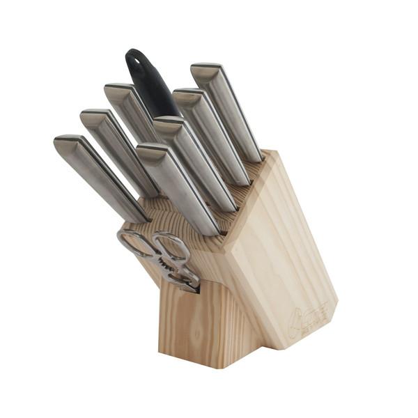 سرویس چاقوی آشپزخانه 9 پارچه کارل مدل SO 315
