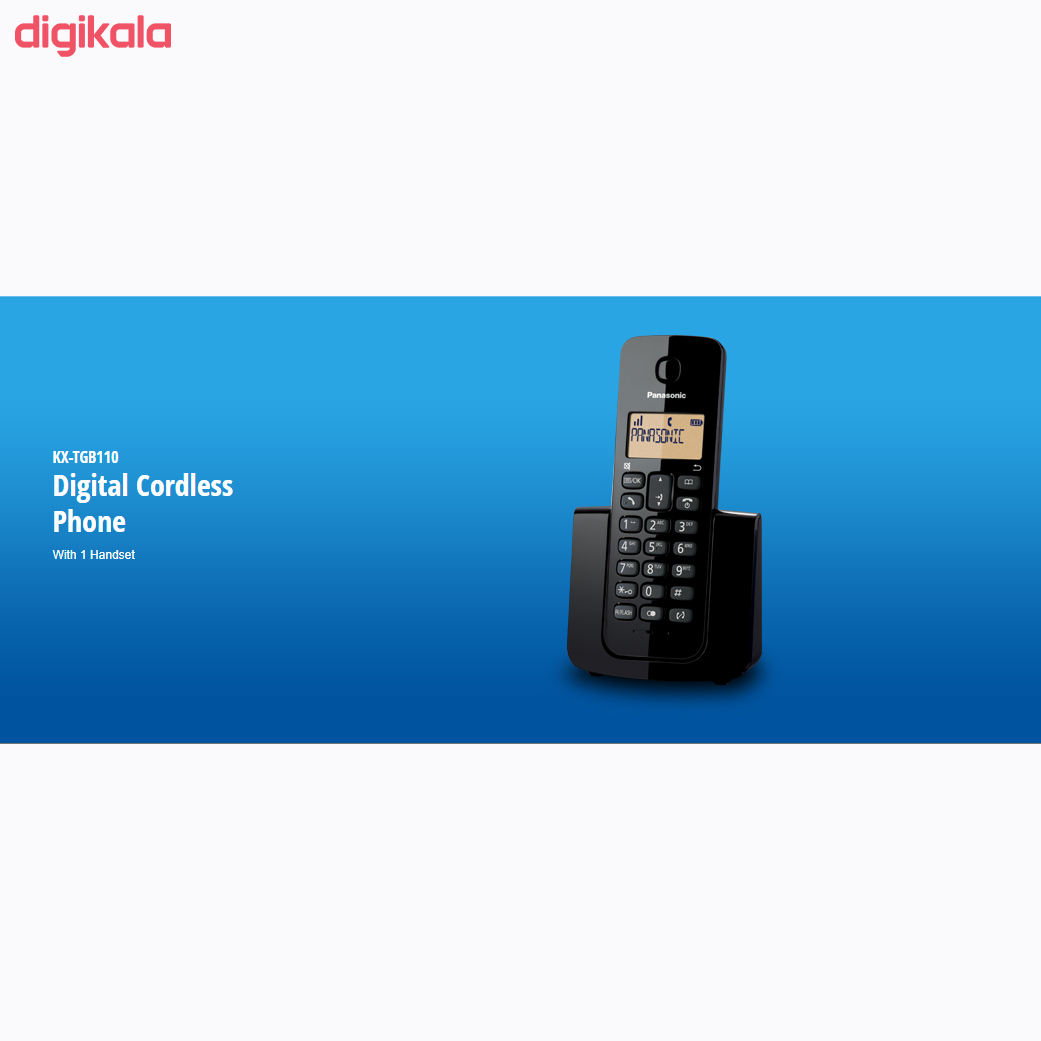 تلفن بیسیم پاناسونیک مدل KX-TGB110 main 1 7