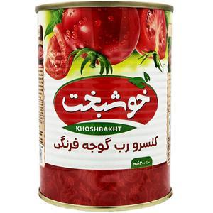 رب گوجه فرنگی خوشبخت- 400 گرم