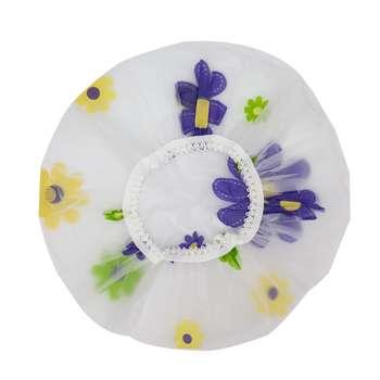 کلاه رنگ مو طرح گل کد mp449