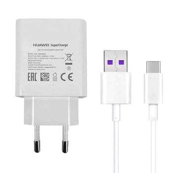 شارژر دیواری هوآوی مدل HW-050450E00 به همراه کابل تبدیل USB-C