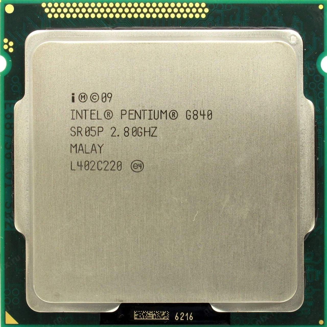 پردازنده مرکزی اینتل سری Sandy Bridge مدل G840