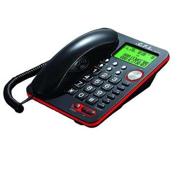 تصویر تلفن رومیزی سی اف ال مدل CFL_7240