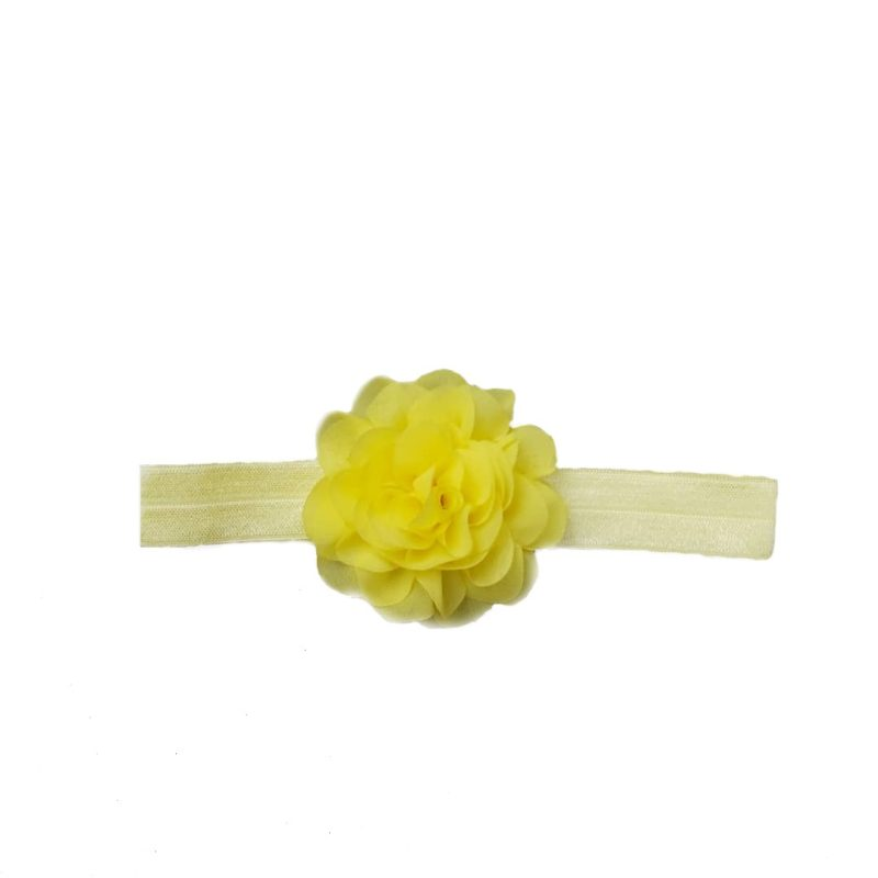 هدبند نوزادی طرح گل مدل H1
