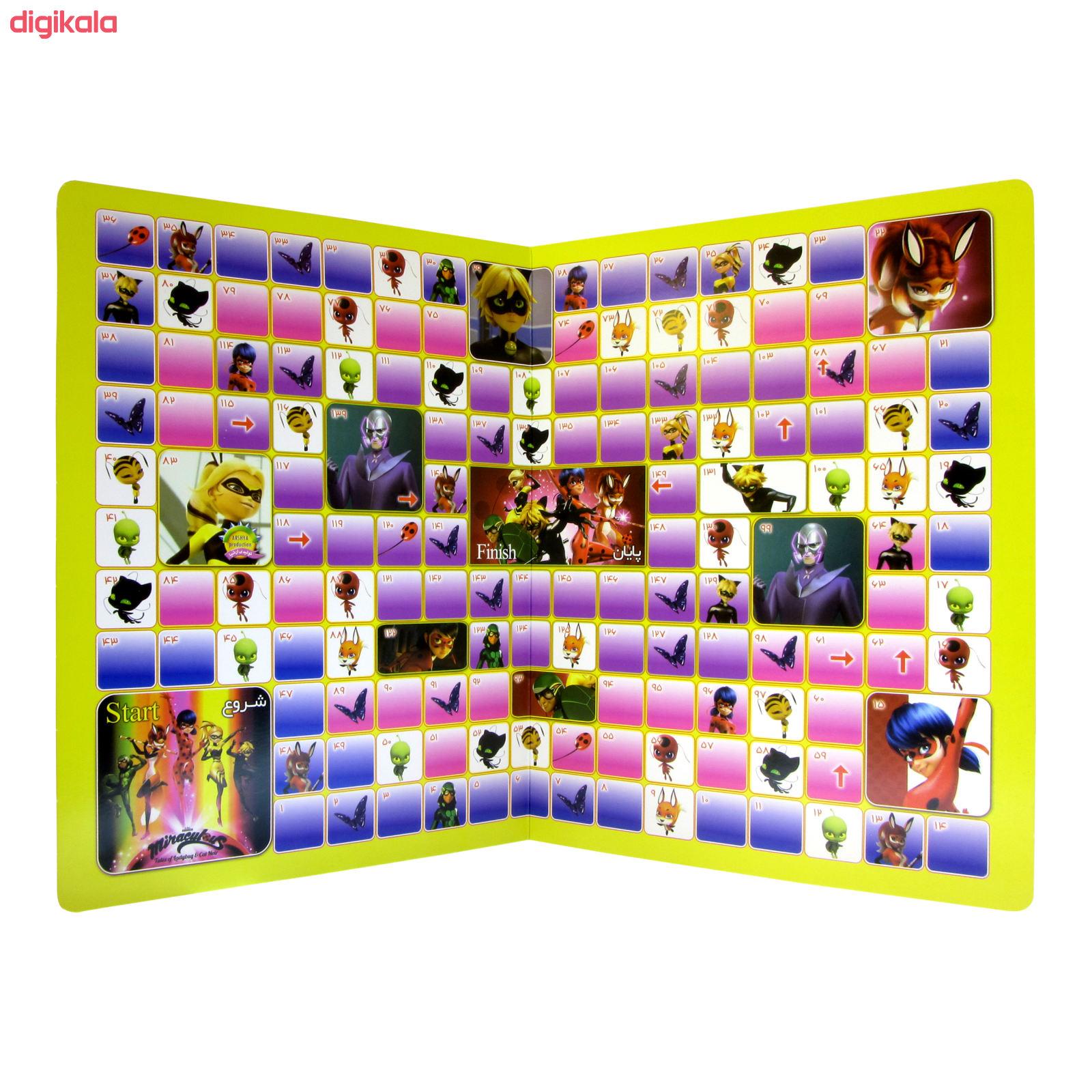 بازی فکری ارشیا مدل دختر کفشدوزکی و پسر گربه ای کد 074 main 1 2
