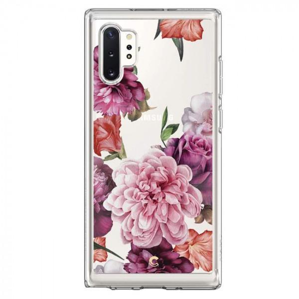 کاور اسپیگن مدل Cecile Rose Floral مناسب برای گوشی موبایل سامسونگ Galaxy Note 10 plus