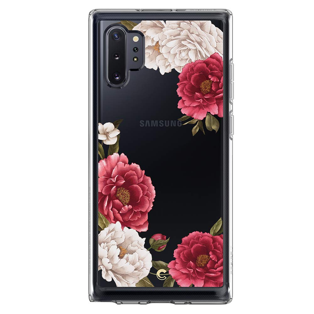 کاور اسپیگن مدل Cecile Red Floral مناسب برای گوشی موبایل سامسونگ Galaxy Note 10 plus