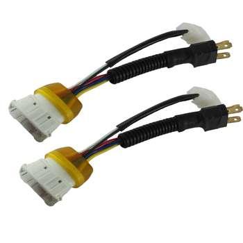 سوکت تبدیل چراغ کد AM5964 مناسب برای پراید 132 بسته 2 عددی