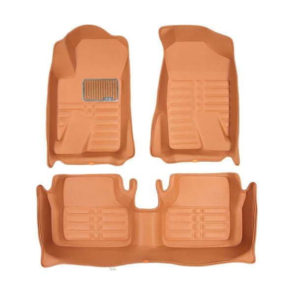 کفپوش پنج بعدی خودرو پانیذ مدل پی زد 25 مناسب برای پژو پارس