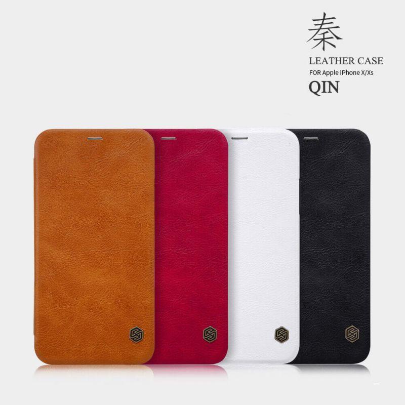 کیف کلاسوری نیلکین مدل Qin مناسب برای گوشی موبایل اپل Iphone X/XS main 1 11