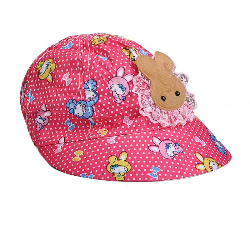کلاه  کپ دخترانه کد d12