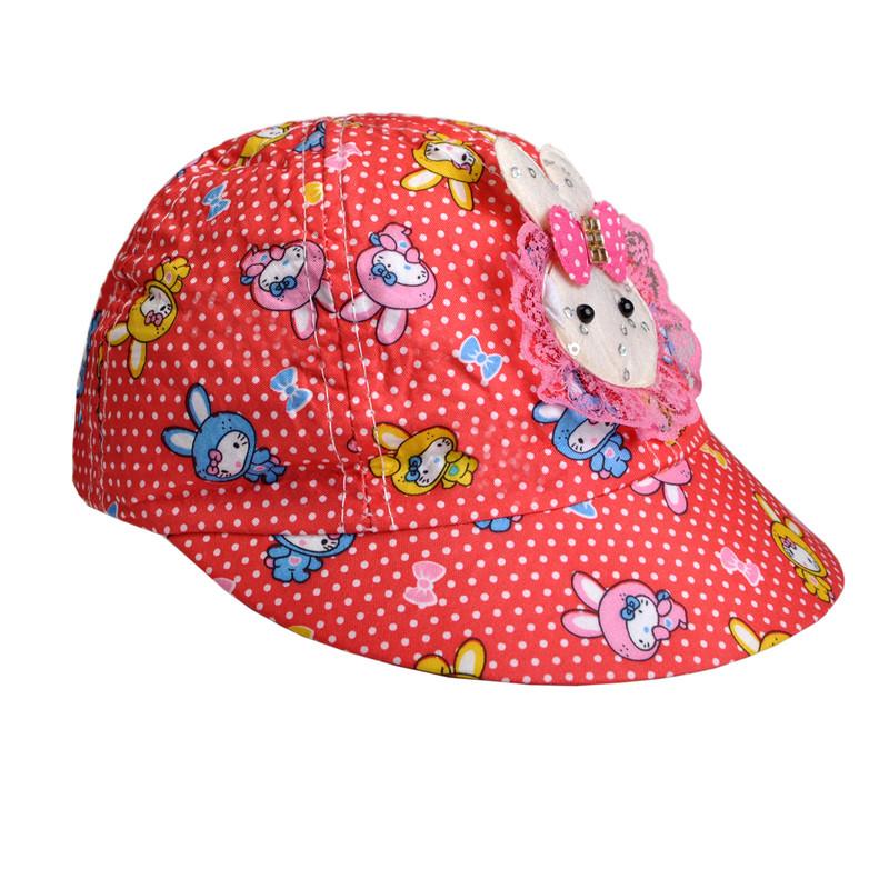 کلاه  کپ دخترانه کد d15