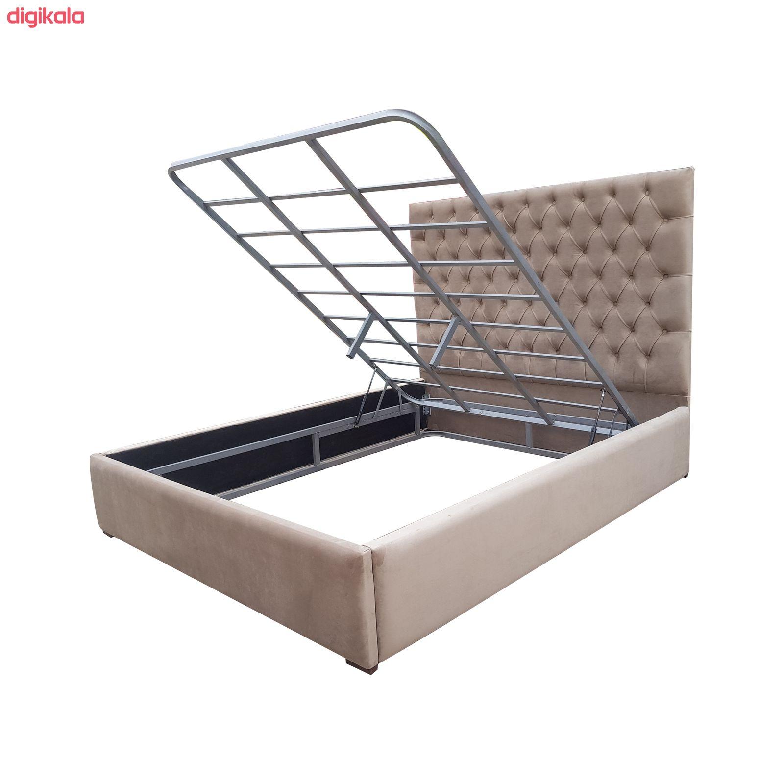 تخت خواب دونفره مدل میلان سایز 160×200 سانتی متر main 1 1