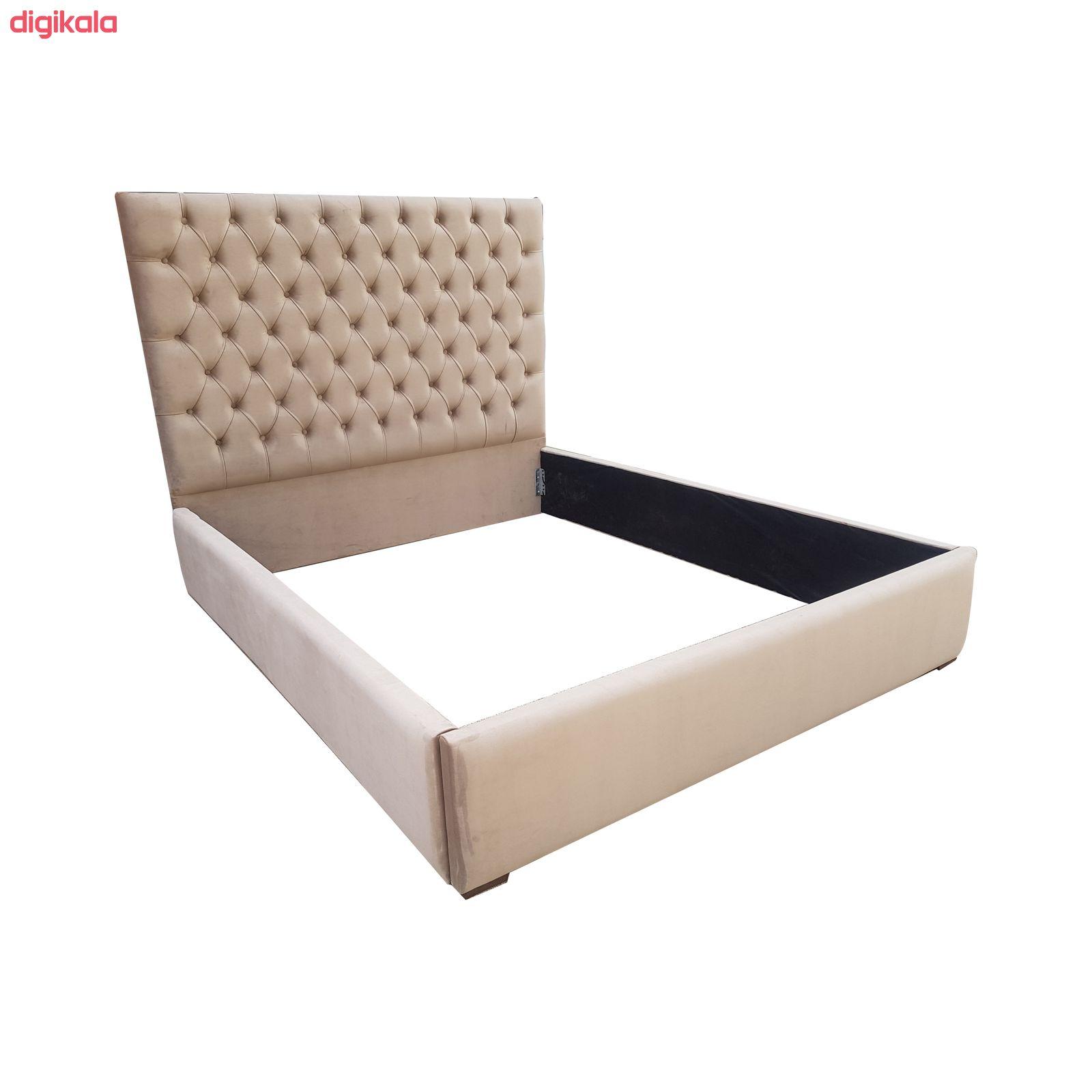 تخت خواب دونفره مدل میلان سایز 160×200 سانتی متر main 1 2