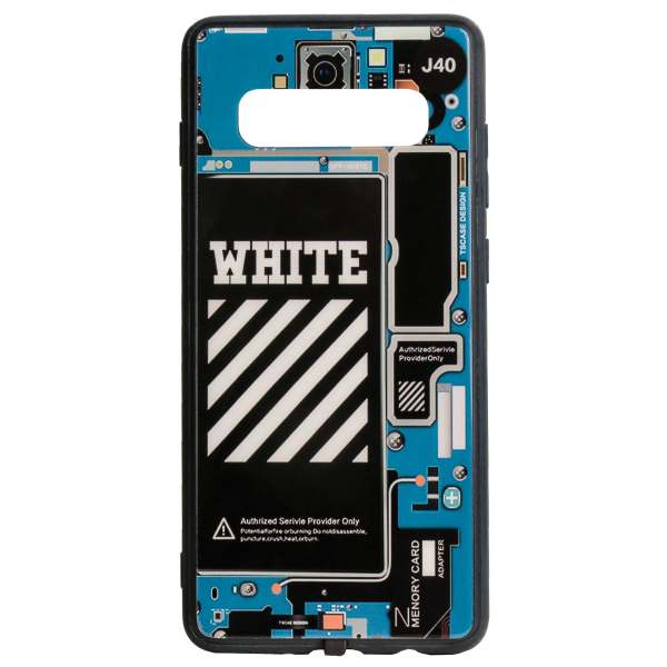 کاور یونیک مدل whit مناسب برای گوشی موبایل سامسونگ Galaxy S10 plus
