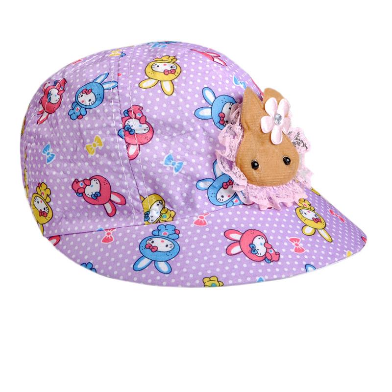 کلاه کپ دخترانه کد k23