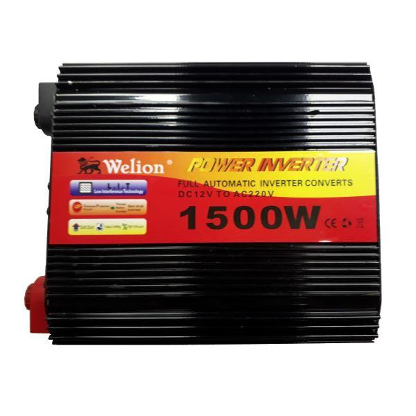 مبدل برق خودرو ویلیون مدل 12V-TO-220V-1500W
