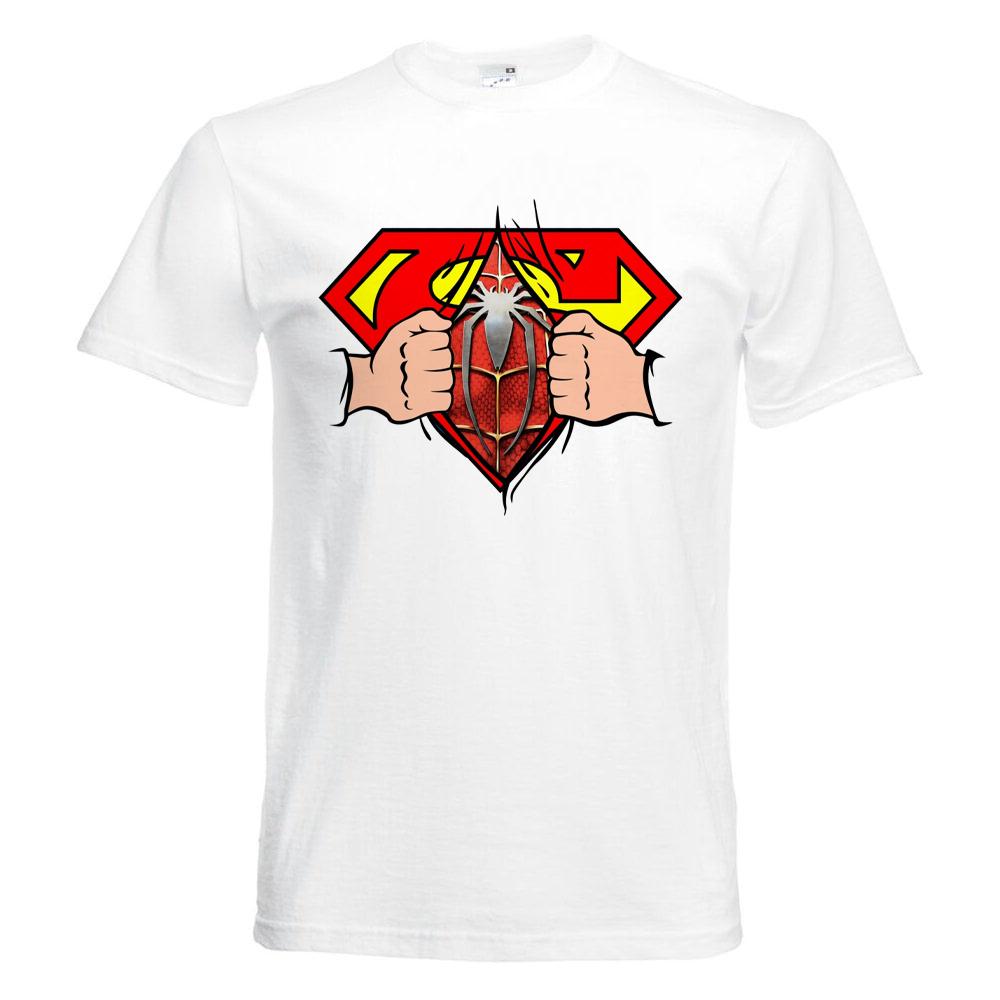تیشرت آستین کوتاه  بچگانه  طرح سوپرمن  کد     KT0275 main 1 1