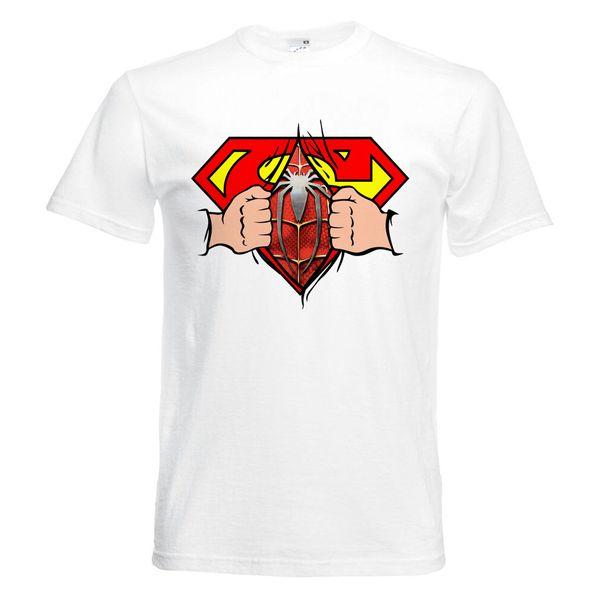 تیشرت آستین کوتاه  بچگانه  طرح سوپرمن  کد     KT0275