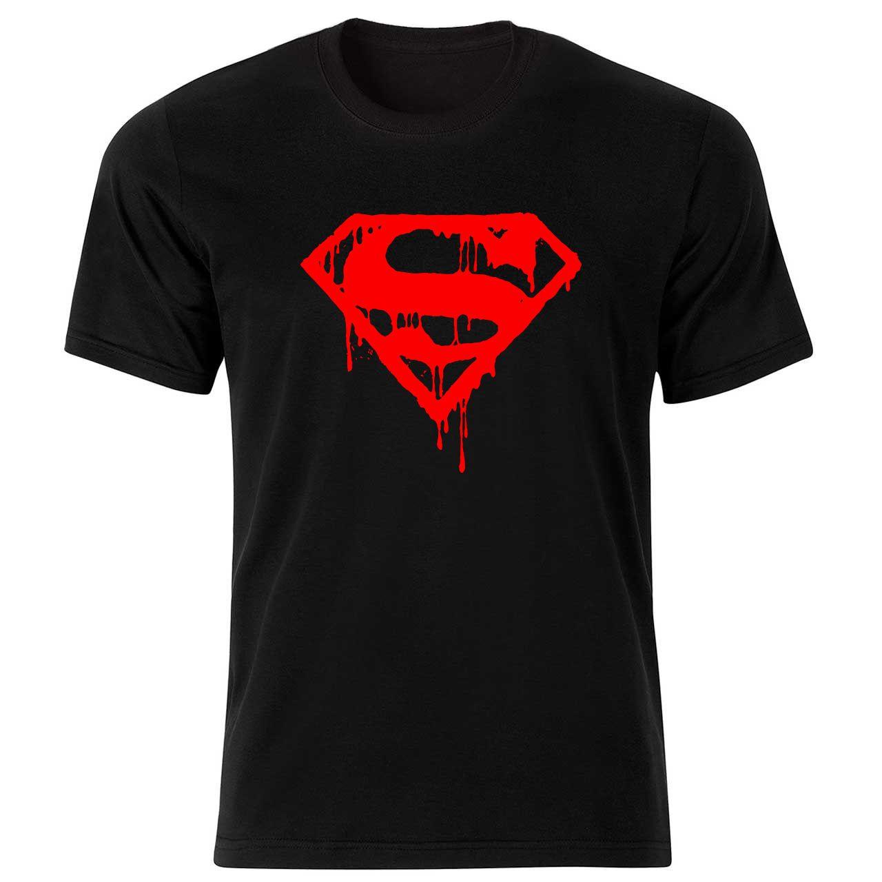 تیشرت آستین کوتاه  بچگانه  طرح سوپرمن  کد    BT011 -  - 2