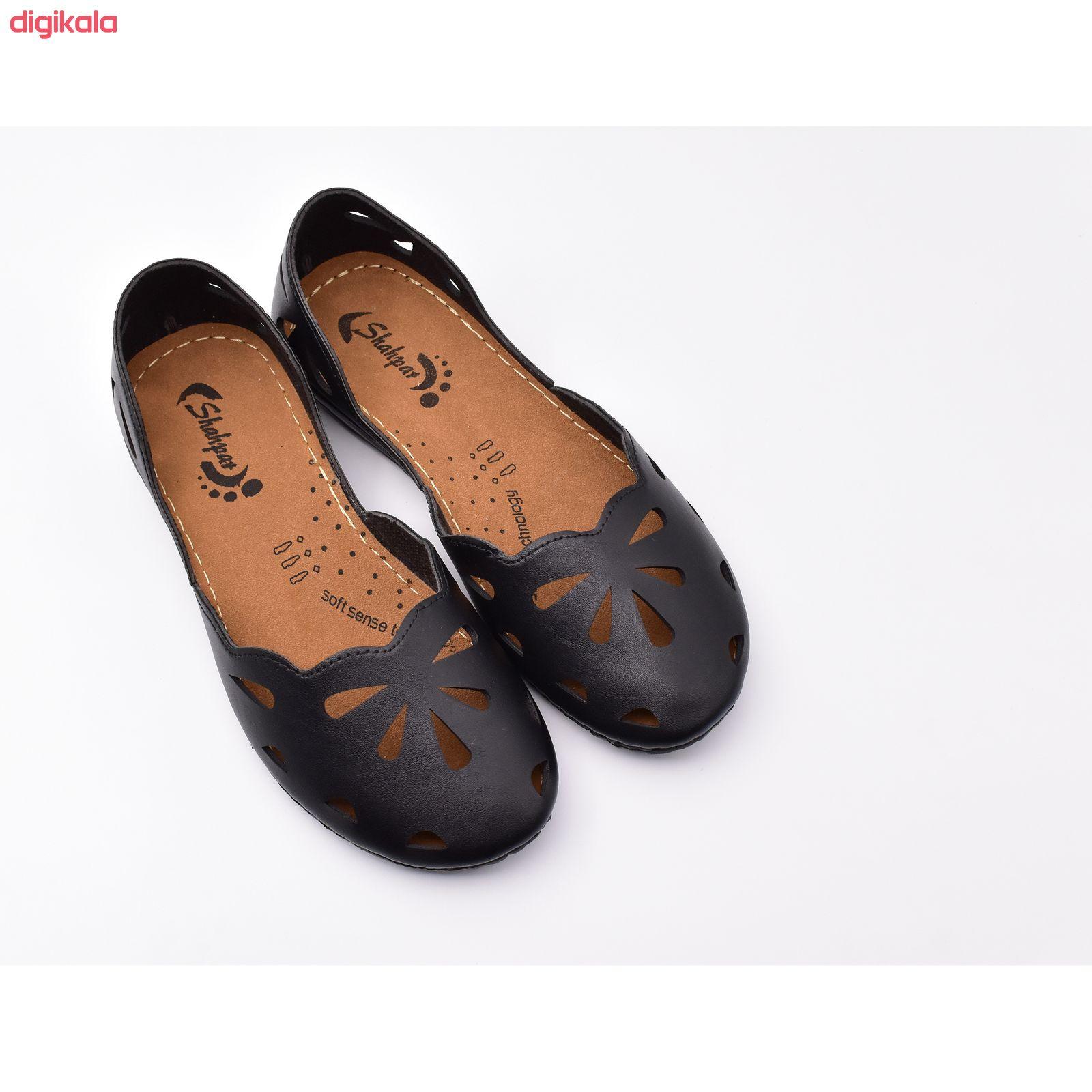 کفش زنانه شهپر مدل رویا 109 کد 7187 main 1 2