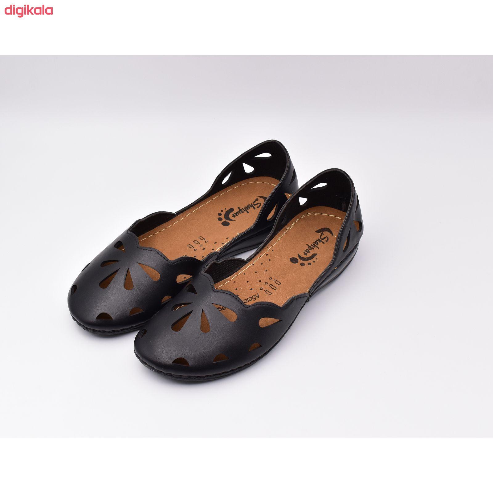 کفش زنانه شهپر مدل رویا 109 کد 7187 main 1 4
